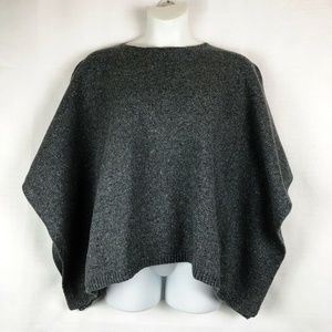 Bass & Co Poncho Pullover Sweater Size L/XL